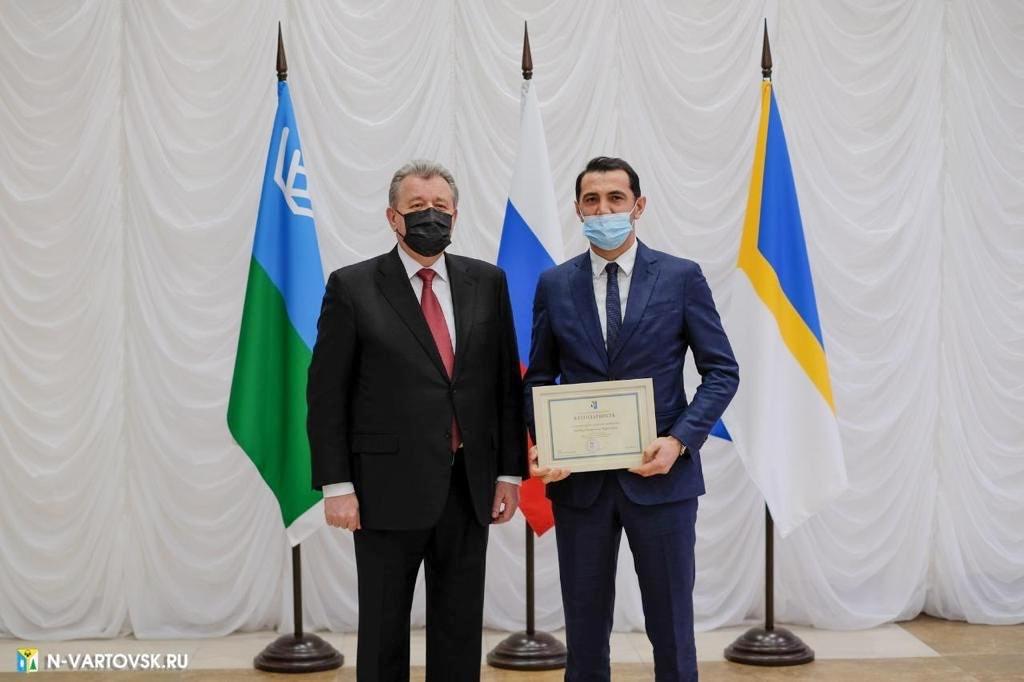 Руководитель нашей клиники награждён Благодарностью главы города